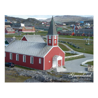 Annaasisutta Oqaluffia (a igreja do nosso Cartão Postal