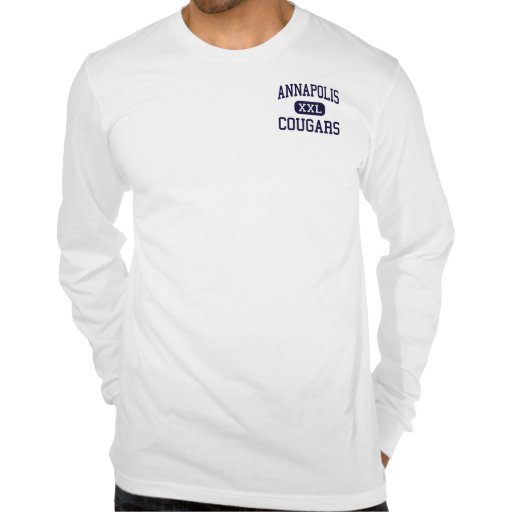 Annapolis - pumas - alto - alturas de Dearborn T-shirt