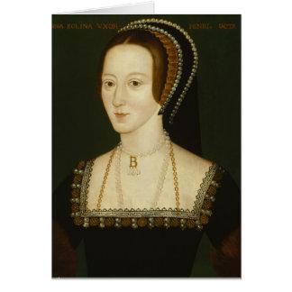 Anne Boleyn - cartão vazio