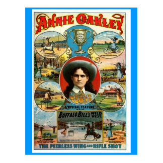 Annie Oakley - cartão