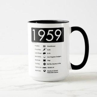 ano 1959-Great (15 onças.) Caneca de café