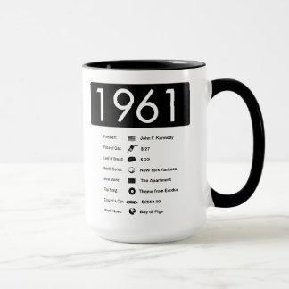 ano 1961-Great (15 onças.) Caneca de café