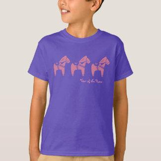 Ano chinês das camisas do cavalo t-shirts