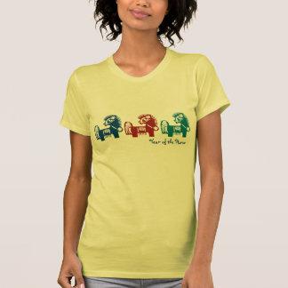 Ano chinês dos t-shirt do cavalo
