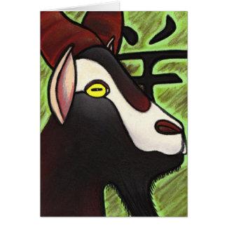 Ano da cabra cartão