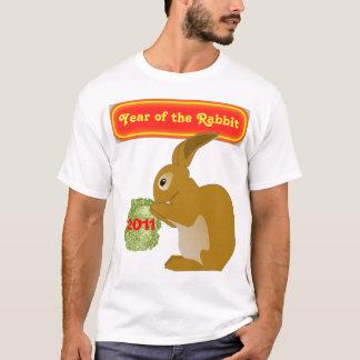 ano da camisa dos homens do coelho