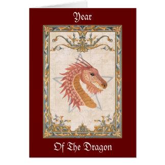 Ano do cartão do dragão