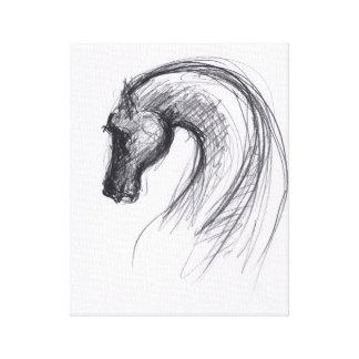 Ano do cavalo 1 - impressão das canvas impressão em tela