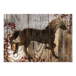 ano do cavalo de madeira convite