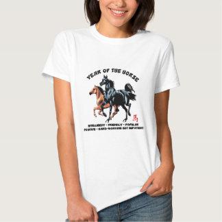 Ano do cavalo t-shirts