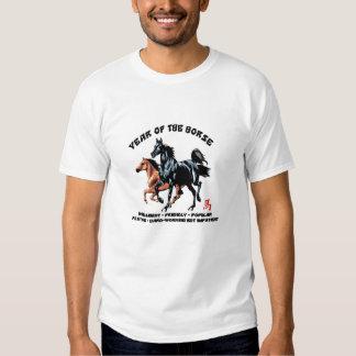 Ano do cavalo tshirts