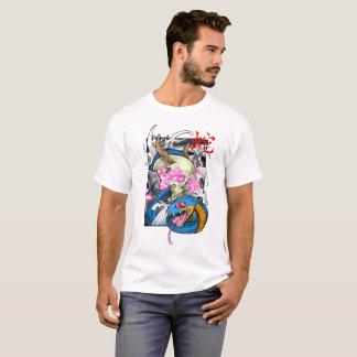 Ano do cobra camiseta