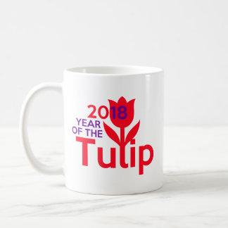 Ano do 🌷 da caneca da tulipa 2018