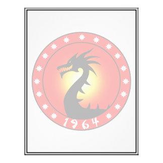 Ano do dragão 1964 panfletos
