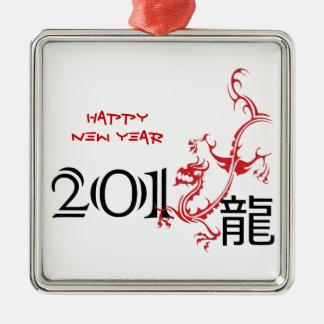 Ano do dragão, ornamento chinês do ano novo 2012