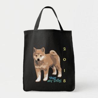Ano do inu de Shiba de minha bolsa de compra 2018