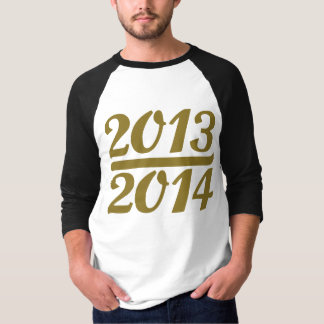 Ano novo 2013 2014 camiseta