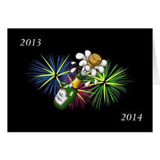 Ano novo 2013-2014 cartão