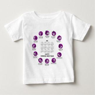 Ano novo chinês feliz Clndr do zodíaco de 2014 Camiseta