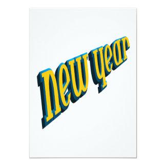 Ano novo convites personalizados