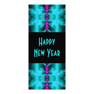 ano novo de turquesa convites