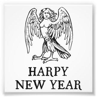 Ano novo do Harpy feliz Fotografias