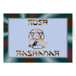 Ano novo judaico de Rosh Hashanah Cartoes