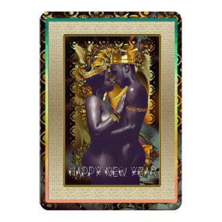Ano novo novo convite 12.7 x 17.78cm