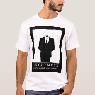 Anónimo - defensores de Wikileaks Camiseta