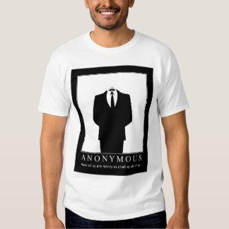Anónimo - defensores de Wikileaks Tshirts
