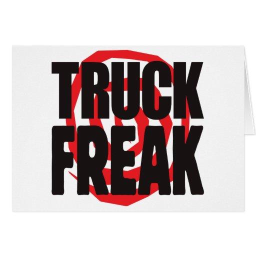 Anormal do caminhão cartao
