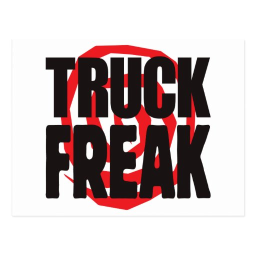Anormal do caminhão cartao postal