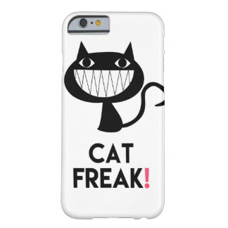 Anormal do gato! Capa de telefone do iPhone 6/6s