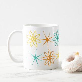 Anos 50 astucioso - átomos e caneca das estrelas