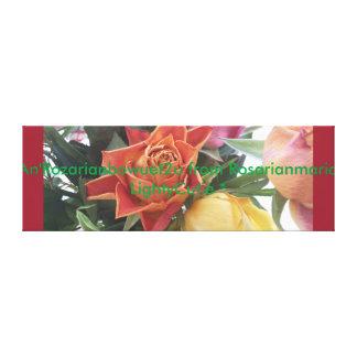 An'Rozarianbowuet2u de Rosarianmaria LightyCutie Impressão Em Tela