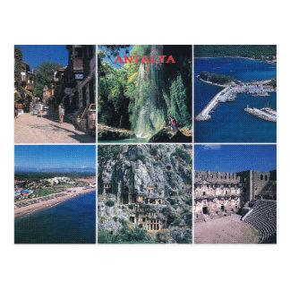 Antalya - cartão