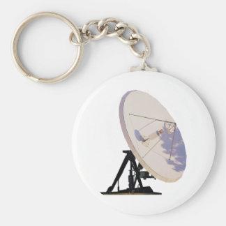 Antena parabólica chaveiro