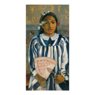 Antepassados de Tehamana por Paul Gauguin Cartão Com Foto
