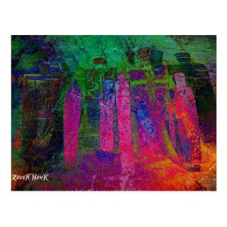 Antepassados do arco-íris cartão postal