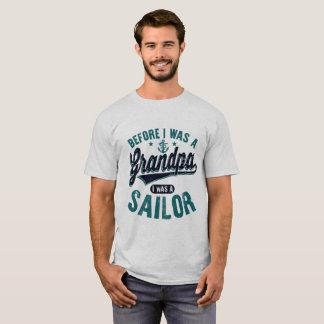 Antes que eu estive um vovô eu fui um marinheiro camiseta