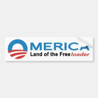 Anti autocolante no vidro traseiro de Obama - Omer Adesivo Para Carro