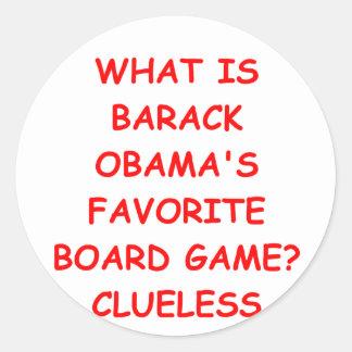 anti Barack Obama Adesivo