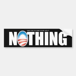 Anti Barack Obama - nada Adesivo Para Carro