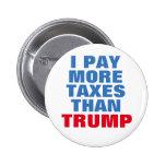 Anti botão de Donald Trump Bóton Redondo 5.08cm