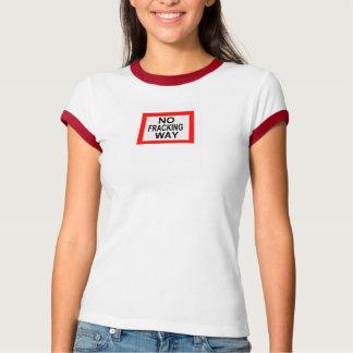 Anti camisa de Fracking T