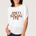 Anti camiseta da socialite