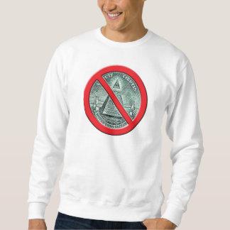 Anti - camisola de Illuminati Moletom
