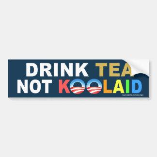 """anti da """"etiqueta não de Koolaid do chá bebida"""" de Adesivo Para Carro"""