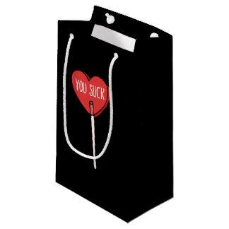 anti dia dos namorados você suga sacola para presentes pequena