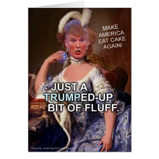 Anti eleição 2016 de Donald Trump Marie Antoinette Cartão